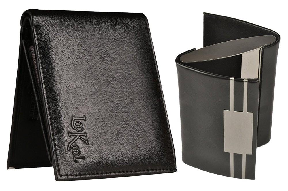 8d8820e26bb91 Gift For Men   Boys - Leather Men s Wallet   Double Side ATM Card Holder