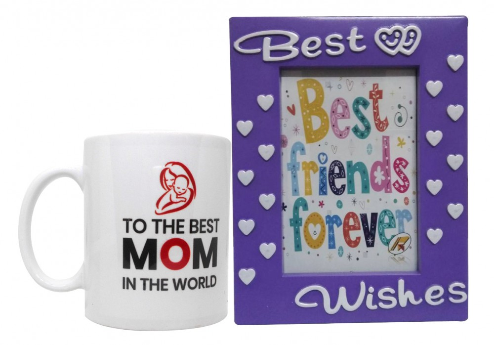 4da72d0507d Mother's Day Gift Combo - Quote Coffee Mug & Photo Frame(Sky Blue)