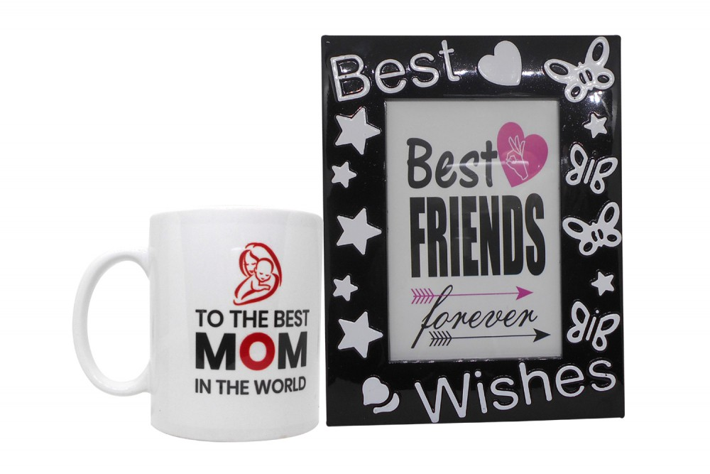 9db046e8c6c Mother's Day Gift - Quote Coffee Mug & Photo Frame(Black)